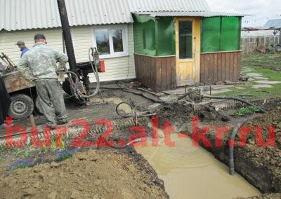 Бурение скважин на воду Барнаул, Новоалтайск, Укладка